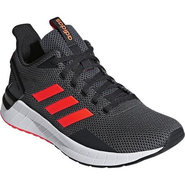 5688f908b Shop adidas Men s Questar Ride Running Shoe Carbon Solar Red Grey ...