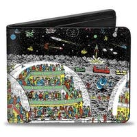 Where's Waldo? In The Future Bi Fold Wallet - One Size Fits most