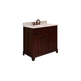 """Sunny Wood GH3621D Grand Haven 36"""" Maple Wood Vanity Cabinet Only - grand haven"""