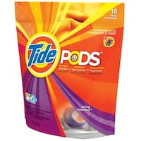 Tide 85993 Pods Laundry Detergent, Spring Meadow, 16 Count