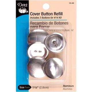 "Cover Button Refills-Size 45 1-1/8"" 3/Pkg"