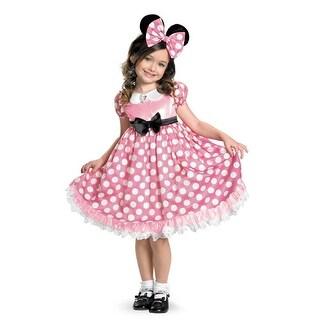 Girls Minnie Mouse Glowing Disney Halloween Costume