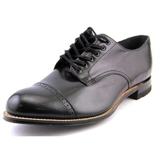 Stacy Adams Madison 2E Cap Toe Leather Oxford