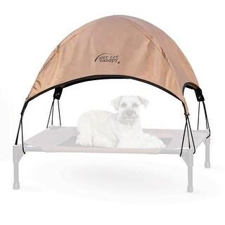 """K&H Pet Products Pet Cot Canopy Medium Tan 25"""" x 32"""" x 23"""""""