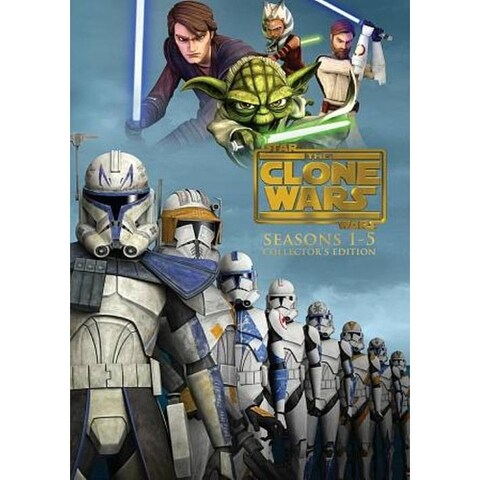 Star Wars: The Clone Wars - The Complete Seasons 1-5 - DVD