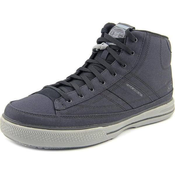 Skechers Arcade-aurail Round Toe Canvas Sneakers