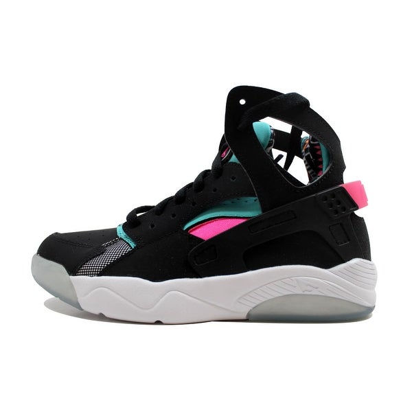 100% authentic 00dc8 84f7d Nike Grade-School Flight Huarache Black Light Retro-Pink Power 705281-003.  Click to Zoom