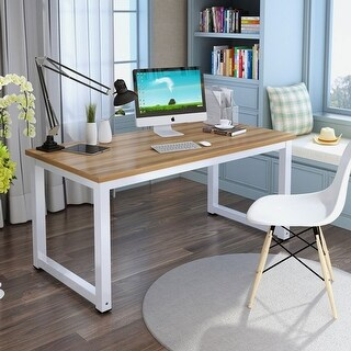 Tribesigns Computer Desk Modern Simple Office Desk Computer Table Study Writing Desk Home Office