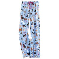 Little Blue House by Hatley Women's Playful Dogs Pajama Lounge Pants PJ Bottoms