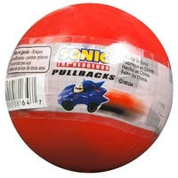 Sonic the Hedgehog Blind Pack Mini Figure Pullback Racer, One Random - multi