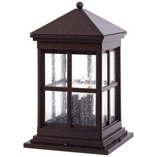 The Great Outdoors GO 8567 4 Light Pier Mount Light from the Berkeley Collection