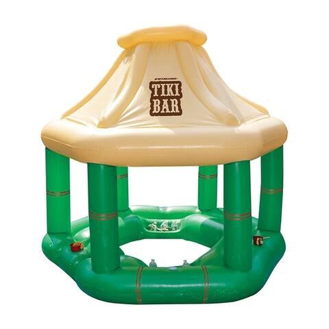 Inflatable Floating Tiki Bar