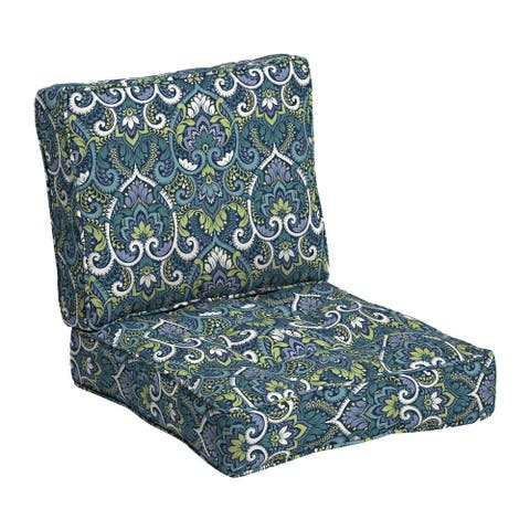 Arden Selections Plush BlowFill 24 x 24 in. Outdoor Deep Seat Cushion Set