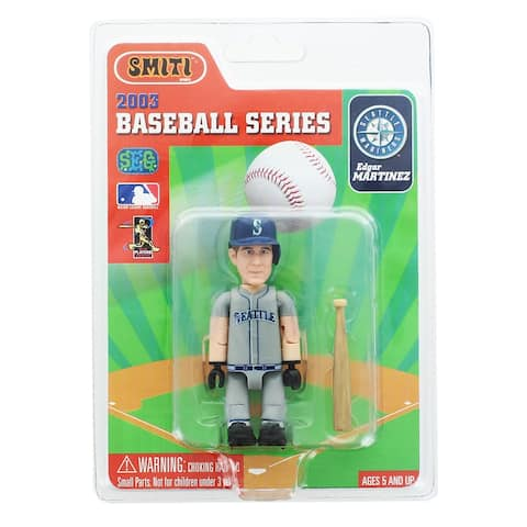 "Seattle Mariners MLB Baseball SMITI 3"" Mini Figure: Edgar Martinez - multi"