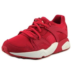 Puma Blaze Jr Youth Round Toe Suede Pink Sneakers