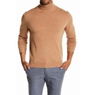Weatherproof NEW Beige Mens Size XL Turtleneck Cashmere Sweater