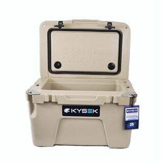 Kysek The Ultimate Ice Chest 25 Liter Camo Tan Cooler