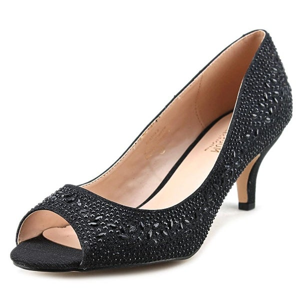 De Blossom Collection Bertha Women Black Pumps