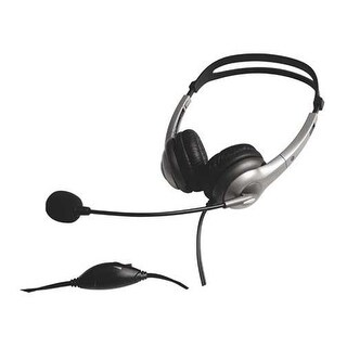 Geemarc CLA3-N-CORD Hearing Aid Compatible Headset W/ Volume Control