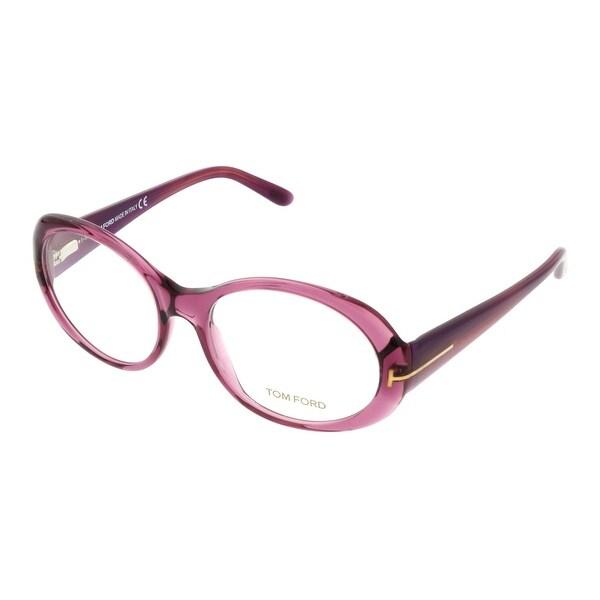 Tom Ford FT5246/V 083 Purple Oval Opticals - 55-17-140