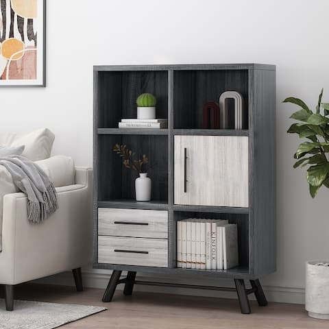 Hulbert Faux Wood Cabinet by Christopher Knight Home