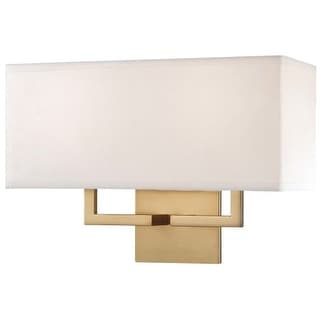 "Kovacs P472-248 2 Light 11"" Height Wall Sconce in Honey Gold"
