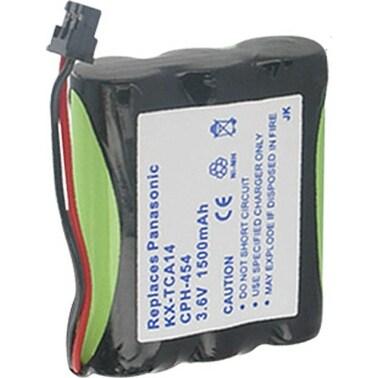 Replacement Panasonic HHR-P505 NiMH Cordless Phone Battery - 1500mAh / 3.6v