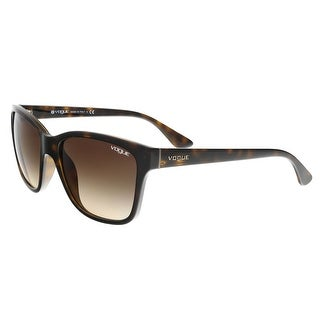 Vogue VO2896S W65613 Havana Square Sunglasses - 54-17-140