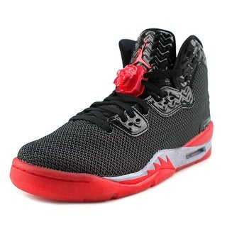 Jordan Air Spike Forty PE Youth Round Toe Synthetic Black Basketball Shoe