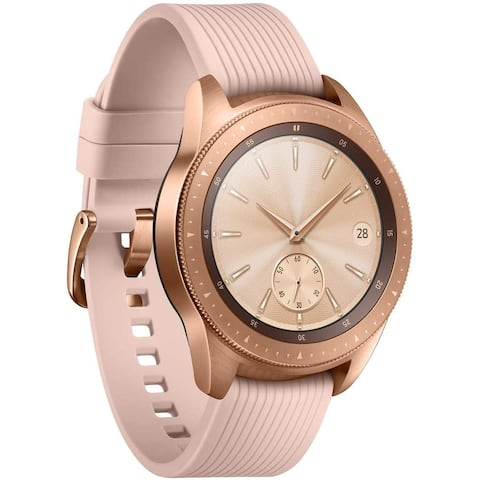 Refurbished 42mm Samsung Galaxy Watch Rose Gold Stainless Steel