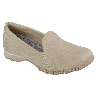Skechers Relaxed Fit Bikers Smokin Womens Slip On Loafers Natural 8