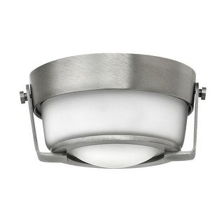 Hinkley Lighting 3228-WH-QF 1 Light LED Convertible Recessed Trim with Frosted Glass Shade from the Hathaway Collection