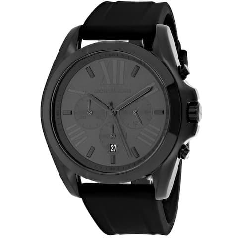 Michael Kors Men's Bradshaw Black Dial Watch - MK8560 - One Size