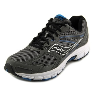 Saucony Grid Cohesion Men W Round Toe Synthetic Gray Running Shoe