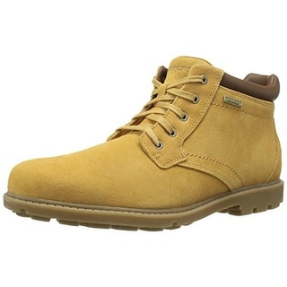 Rockport Mens Rugged Suede Slip Resistant Casual Boots - 11.5 wide (e)