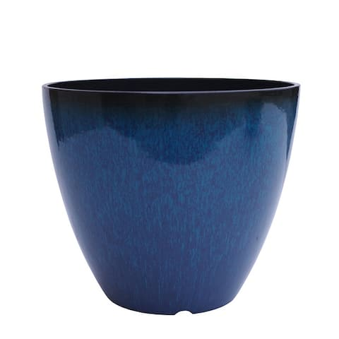 "The Your Choice Patio and Indoor Garden 12"" Plastic Resin Planter Pot, 12"" Planter Pot - 12 Inches"