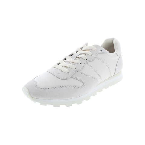 Coach Womens C118 Runner Fashion Sneakers Leather Stitched