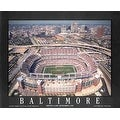 ''Baltimore, Maryland - Ravens Stadium'' by Mike Smith Stadiums Art Print (22 x 28 in.) - Thumbnail 0