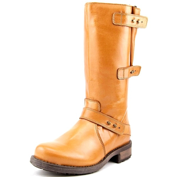 Eric Michael Carlotta Round Toe Leather Boot