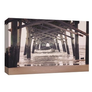 "PTM Images 9-148272  PTM Canvas Collection 8"" x 10"" - ""Under the Boardwalk"" Giclee Beaches and Waves Art Print on Canvas"
