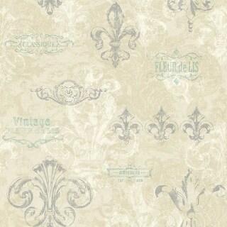 York Wallcoverings KH7022 Fleur Wallpaper