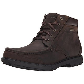 Rockport Mens Storm Surge Hiking Boots Leather Moc Toe - 8 wide (e)