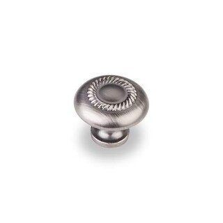 Elements Z118 Cypress 1-1/4 Inch Diameter Mushroom Cabinet Knob