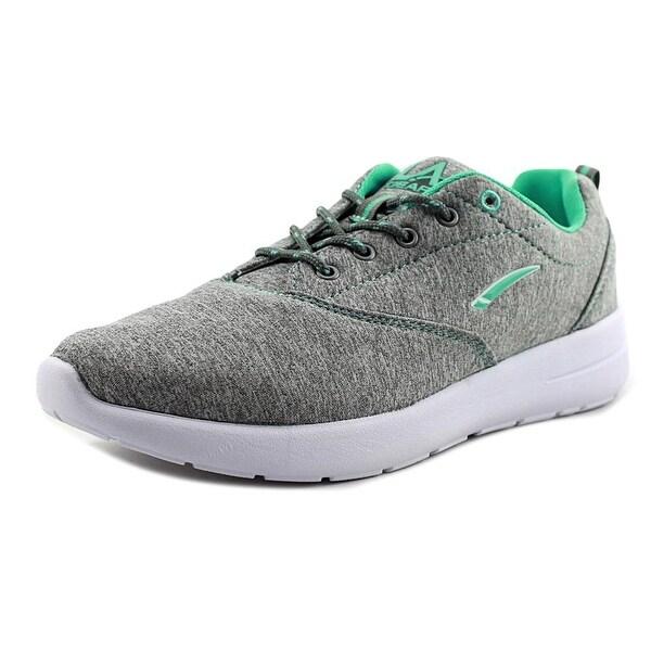 La Gear Lindsey Women Round Toe Synthetic Green Sneakers
