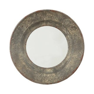 Ashley Furniture Carine Round Tapered Design Accent Mirror A8010146