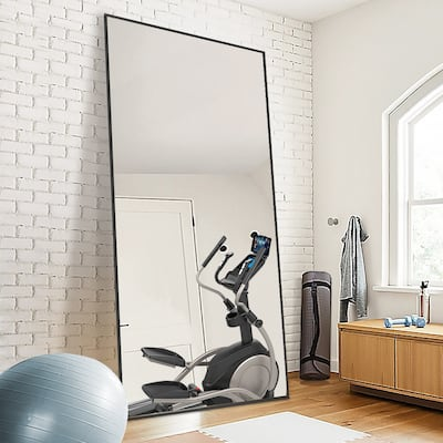 Full Length Floor Mirror Large Standing Wall Mirrors
