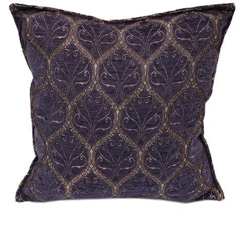 Trellis Myrtus Chenille Decorative Contemporary Turkish Pillow