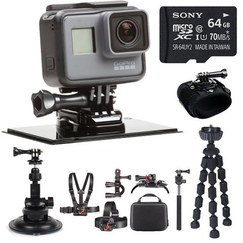 GoPro Hero5 4K Ultra HD Action Camera Delux All-in-One Outdoor Bundle