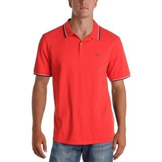 Ben Sherman Mens Big & Tall Romford Polo Shirt Cotton Contrast Trim - 2Xl