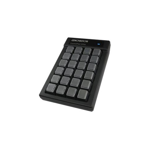 Genovation CP24-USBHID Genovation ControlPad CP24-USBHID - Cable Connectivity - USB Interface - 24 Key - Compatible with